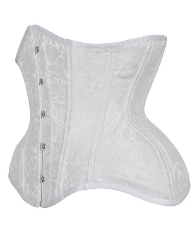 Kalynn New Curvy Waist Training Custom Made Corset in Brocade