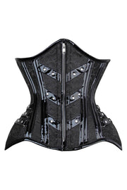 Caress Curvy Brocade Waist Trainer Corset