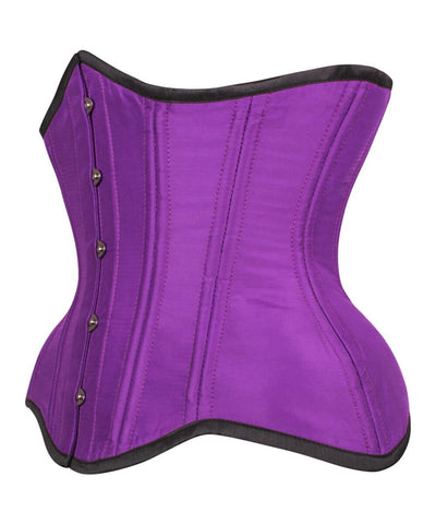 Karrin Waist Training Purple Curvy Corset