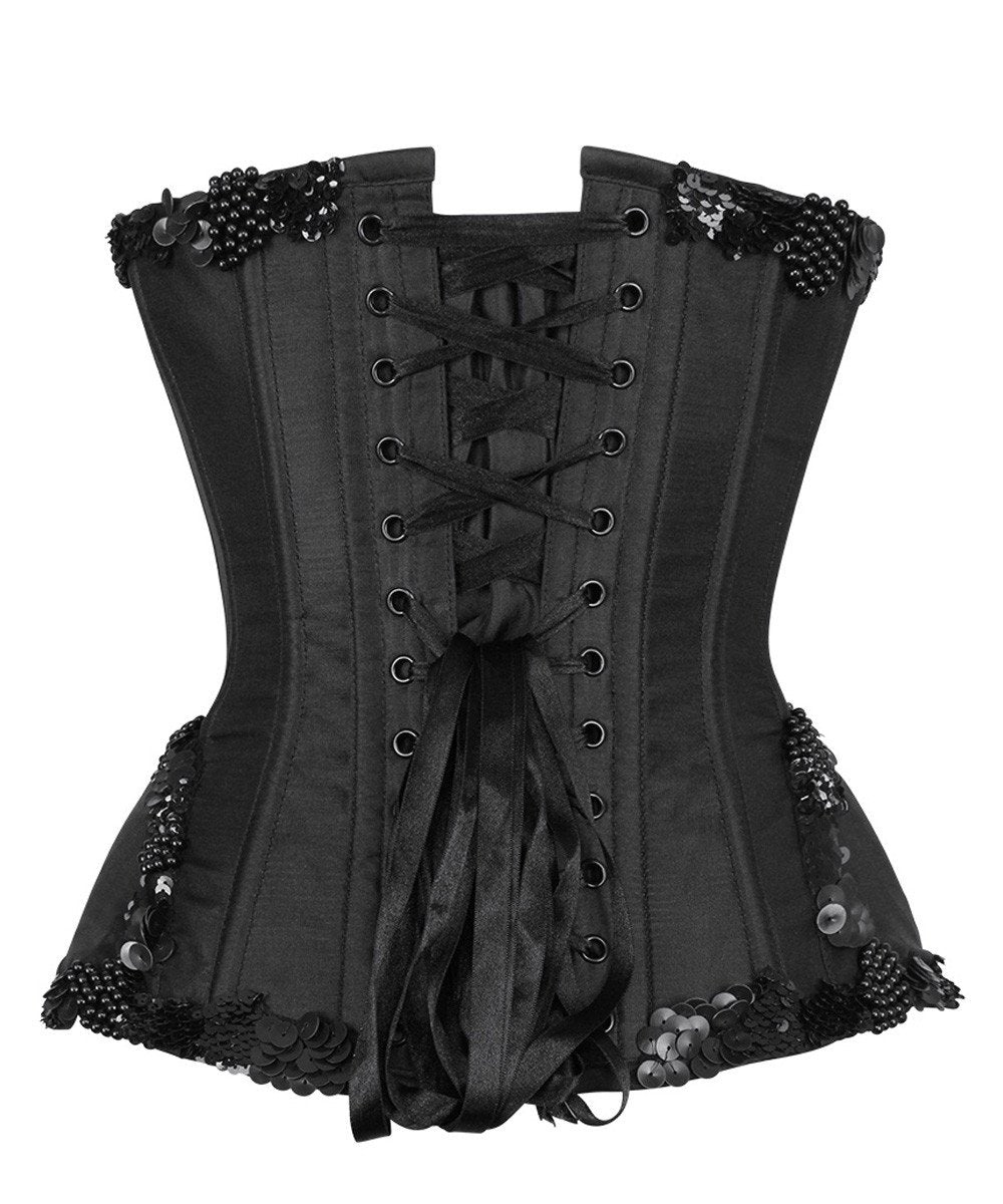 Leib Embroidered Overbust Couture Corset