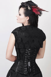 Layton Custom Made Lace Overlay Corset with Bolero Jacket