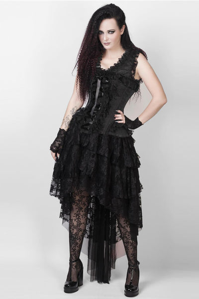 Evelynn Custom Made Victorian Inspired Corset Dress