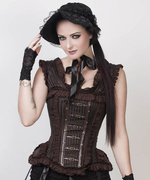 Romola Victorian Inspired Steampunk Custom Made Corset