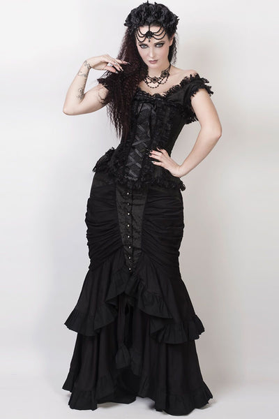 Laios Black Gothic Skirt