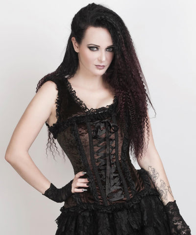 Leeann Brown Victorian Inspired Corset