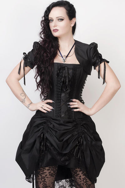 Franz Custom Made Victorian Inspired Corset Dress with Bolero