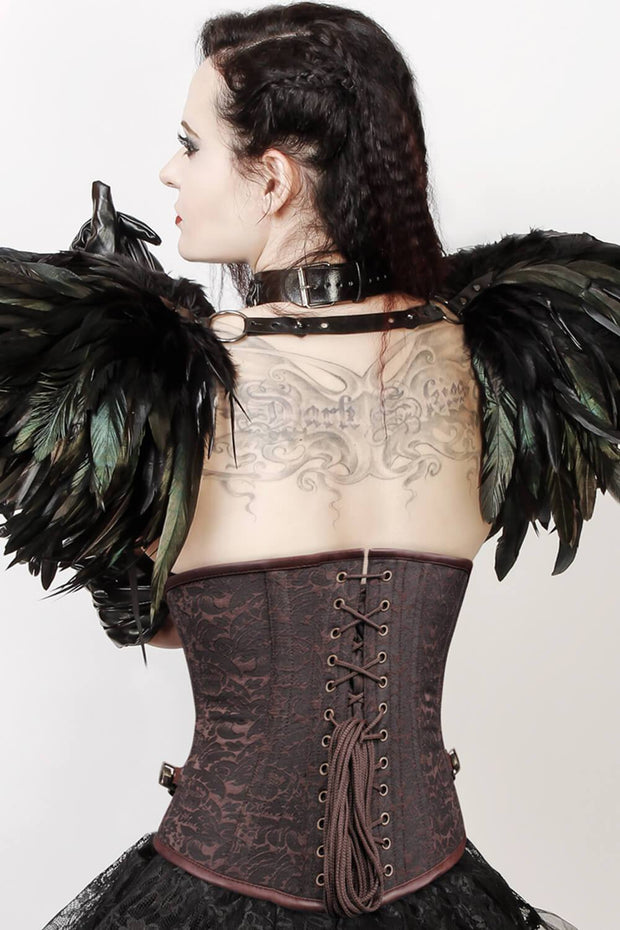 Femie Custom Made Brocade Steampunk Underbust Corset
