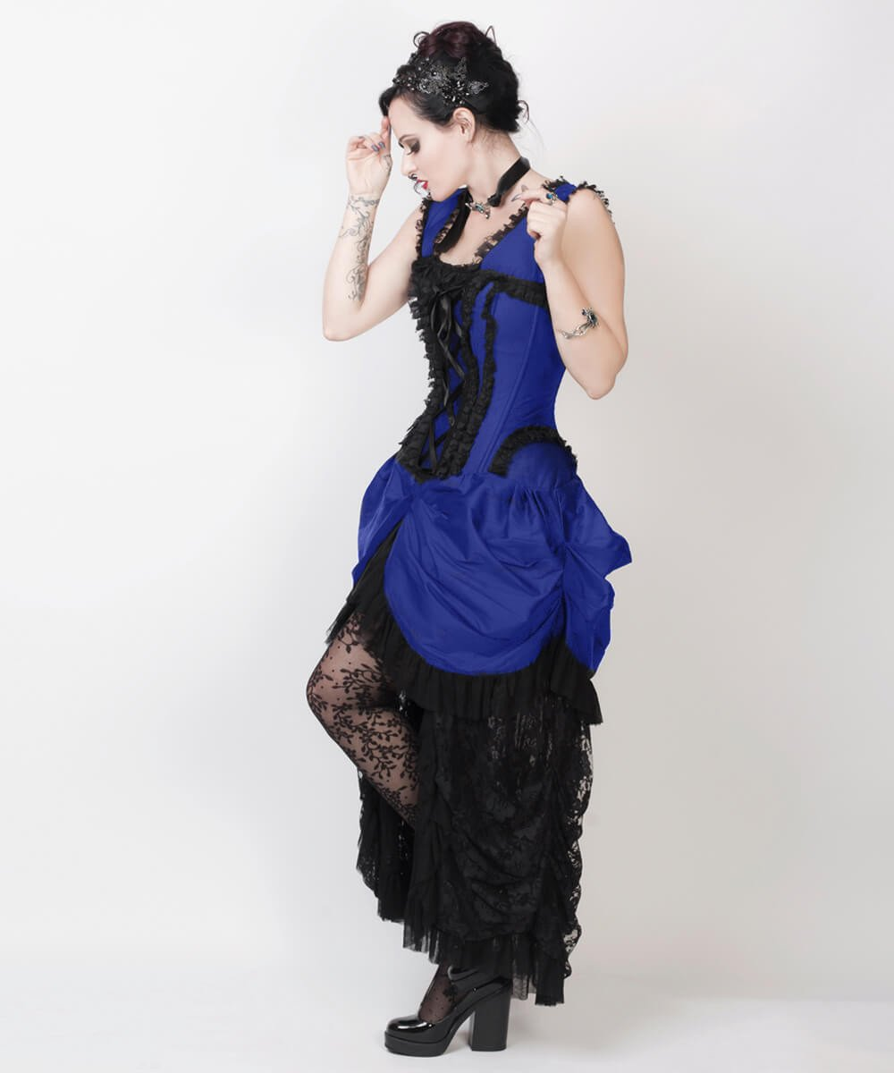 Akane Blue Victorian Inspired Dress
