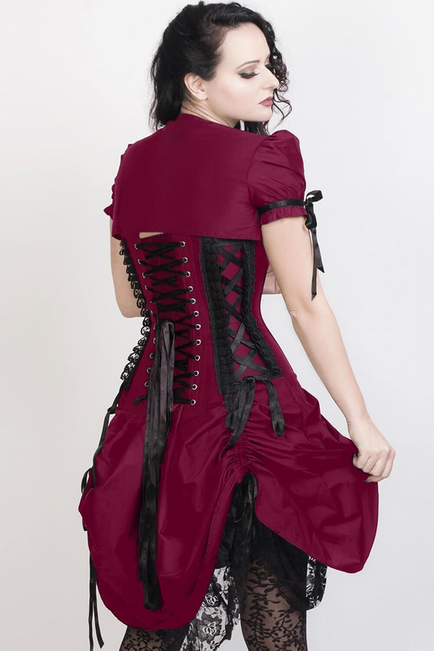 Fyodor Custom Made Victorian Inspired Corset Dress with Bolero