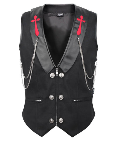 Galine Cotton Gothic Men's Waist Coat