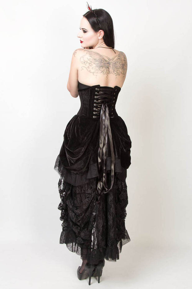 Jaydra Burlesque Underbust Corset Dress