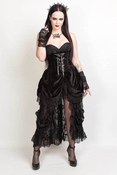 Jaydra Custom Made Burlesque Underbust Corset Dress