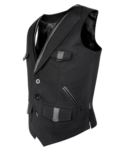 Breezy Cotton Gothic Men's Waist Coat