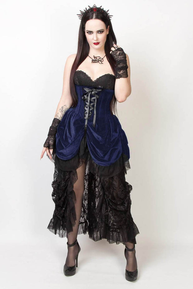 Nanelia Custom Made Burlesque Underbust Corset Dress