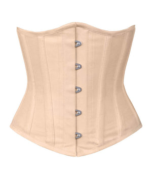 Nude Waist Shaper Corset in 100% Cotton