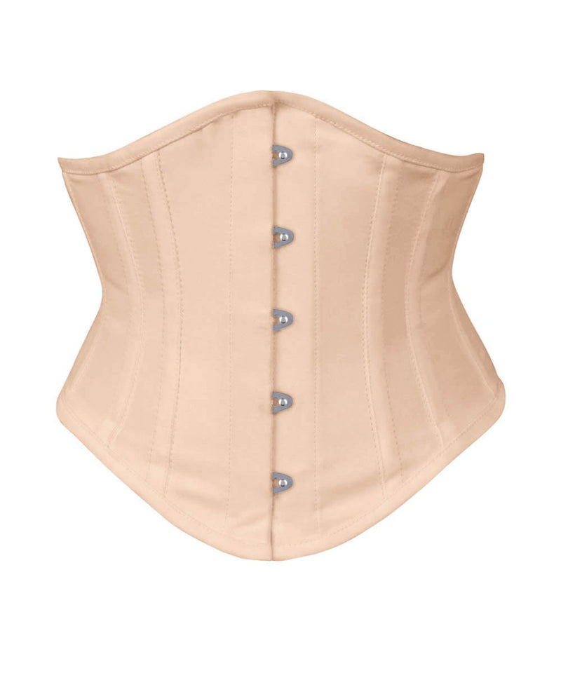 Nude Waist Cincher Corset in 100% Cotton