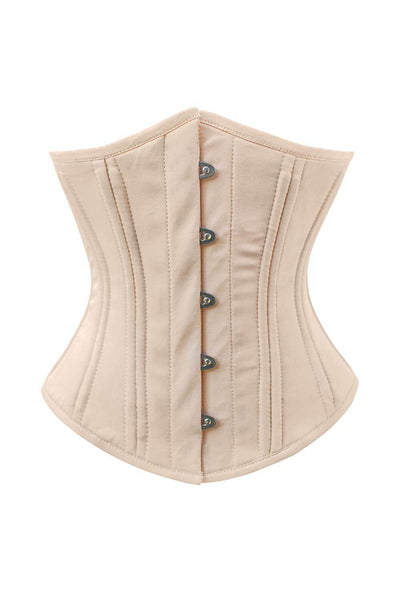 Alden Custom Made Waist Training Underbust Cotton Corset