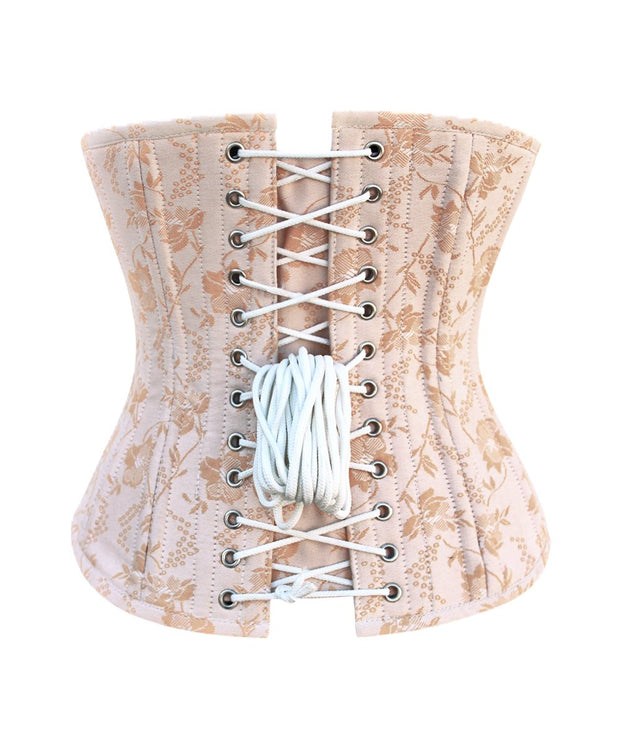 Chesney Underbust Brocade Waist Trainer Corset