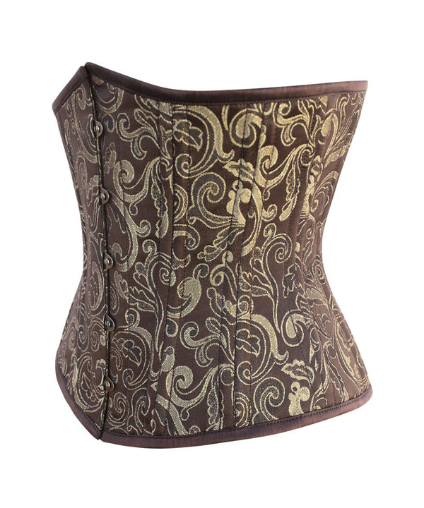 Carrissa Waist Training Brocade Underbust Corset