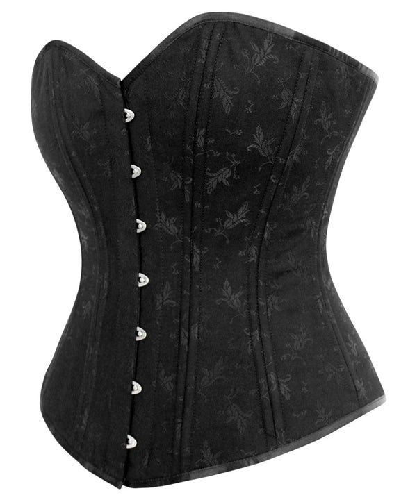 Betty Plus Size Waist Training Black Longline Corset