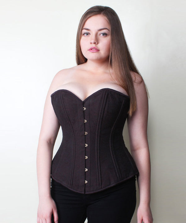 Oakleigh Brocade Plus Size Waist Training Corset