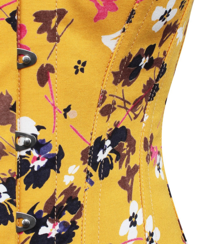 Floral Printed Cotton Corset - Summer 2018