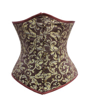 SOLD OUT - Devon Brocade Underbust Corset