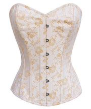 SOLD OUT - Dayton Brocade Cotton Lined Corset