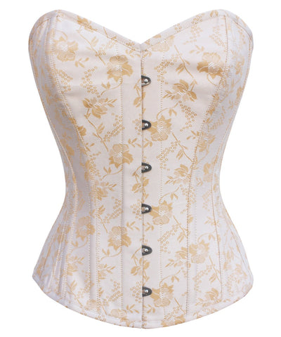 Dayton Brocade Cotton Lined Corset
