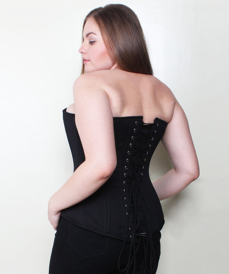 Maira Cotton Waist Training Plus Size Corset