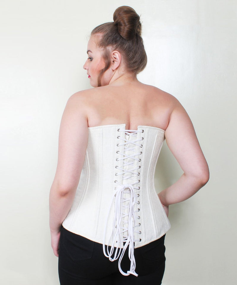 Rayleigh Waist Trainer Brocade Plus Size Corset