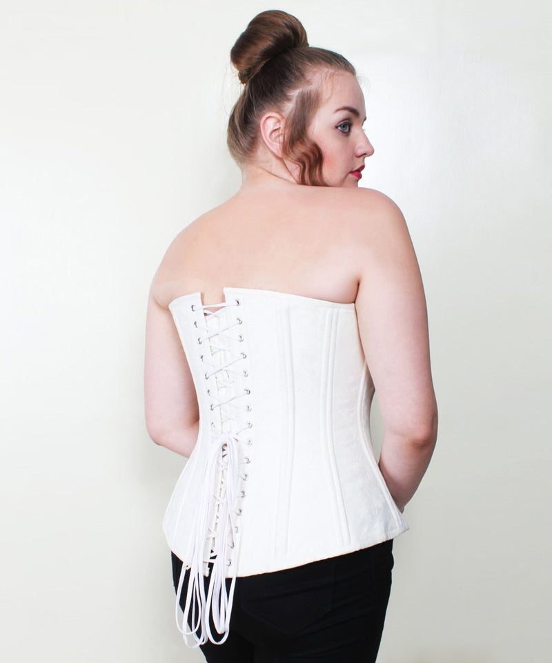 Treasure Brocade Waist Trainer Plus Size Corset