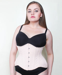 Adilene Cotton Curvy Waist Training Plus Size Corset