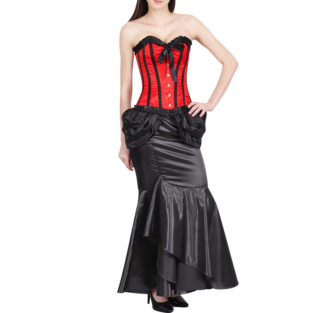 Odon Red Fashion Corset