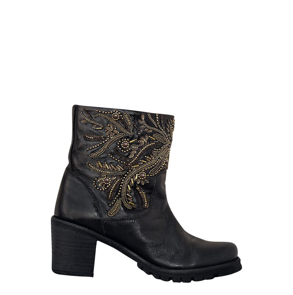 Dariele Genuine Sheep Napa Leather Boot