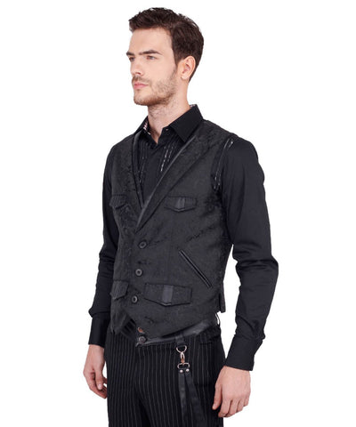 Coder Gothic Men's Waist Coat