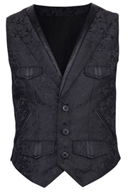 Coder Custom Made Gothic Men's Waist Coat