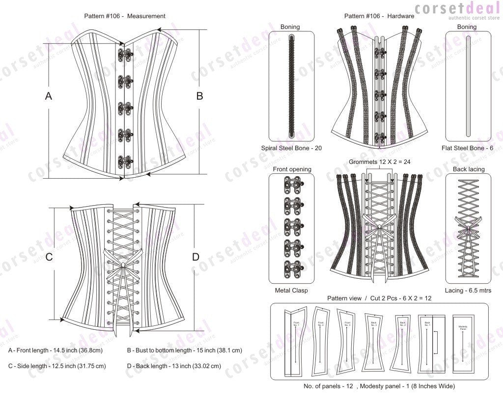 Cathleen Waist Training Corset