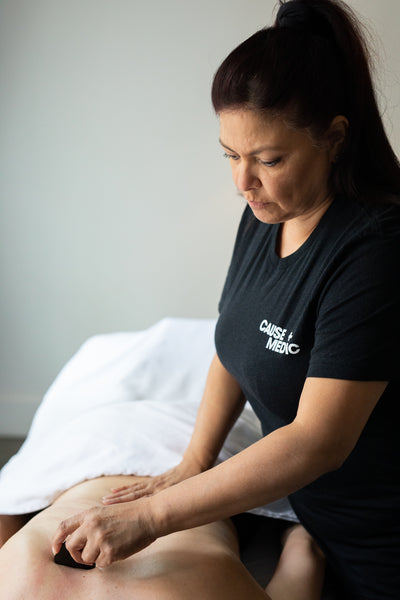 cbd massage therapist