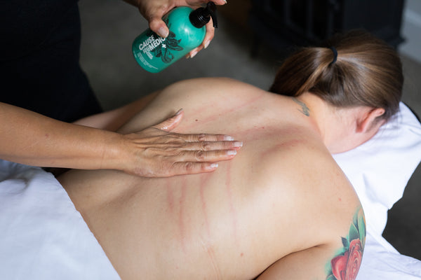 CBD infused massage and cupping