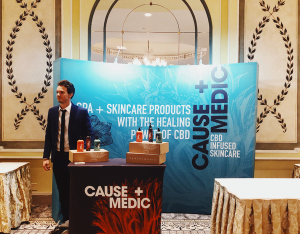 Cause+Medic attends Organic Spa Magazine Wellness and Media Event