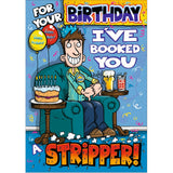 Doodlecards Funny Birthday Card - Medium