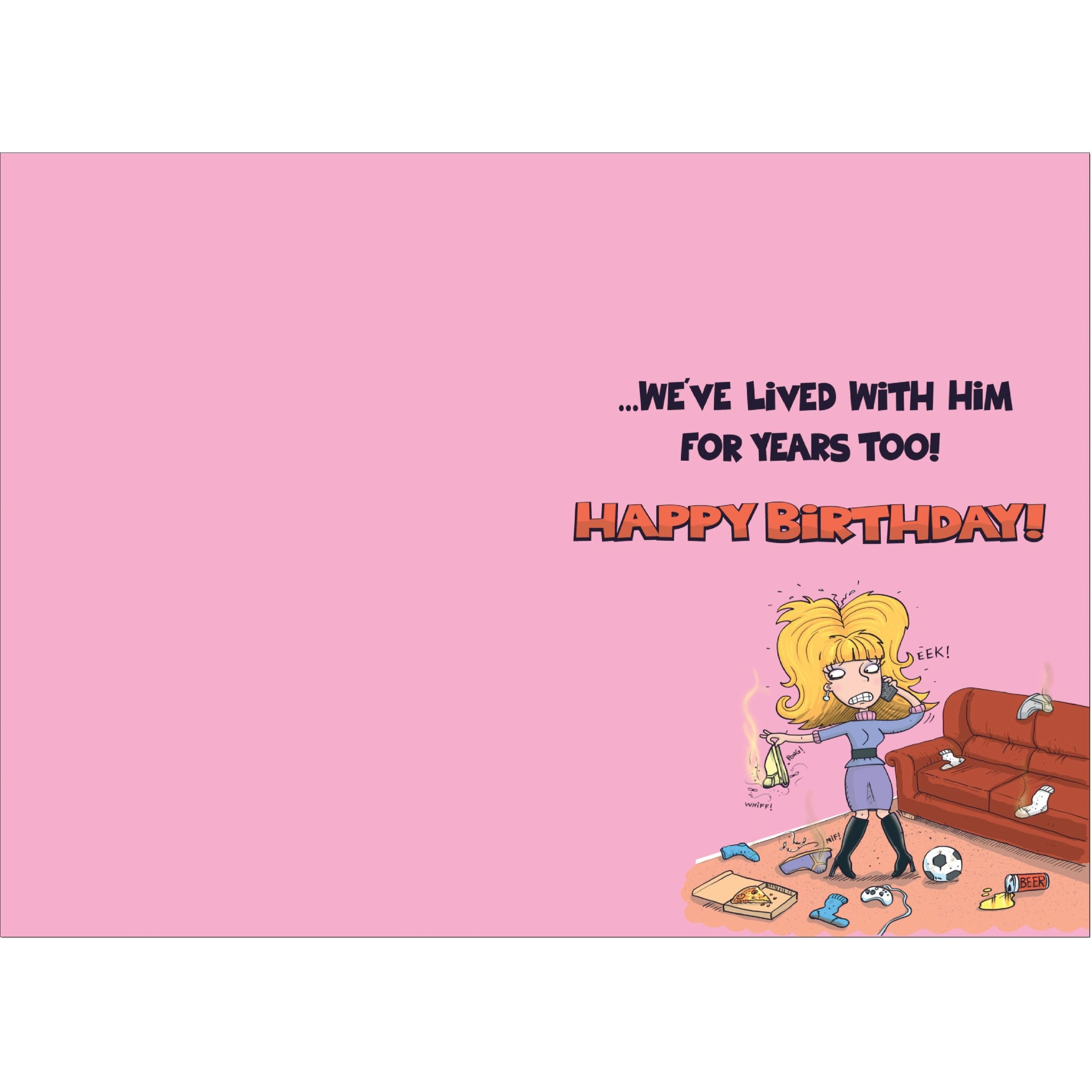 Doodlecards Funny Daughter In Law Birthday Card