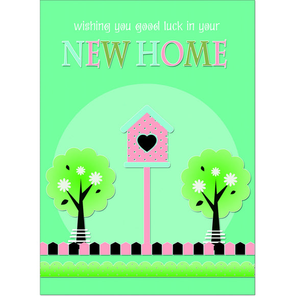 Doodlecards Funny New Home Greeting Card - Medium