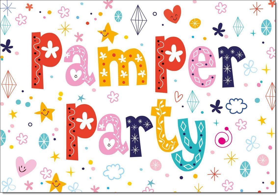 Birthday Party Invitations Pamper Pack Of 20 Invites Envelopes