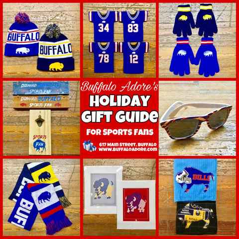 Buffalo Adore Gift Guide for Sports Fans!