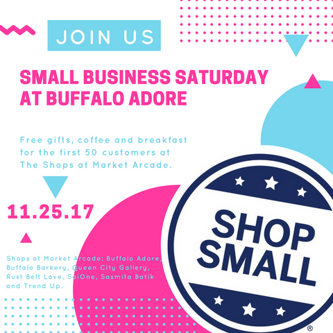Small Business Saturday Details