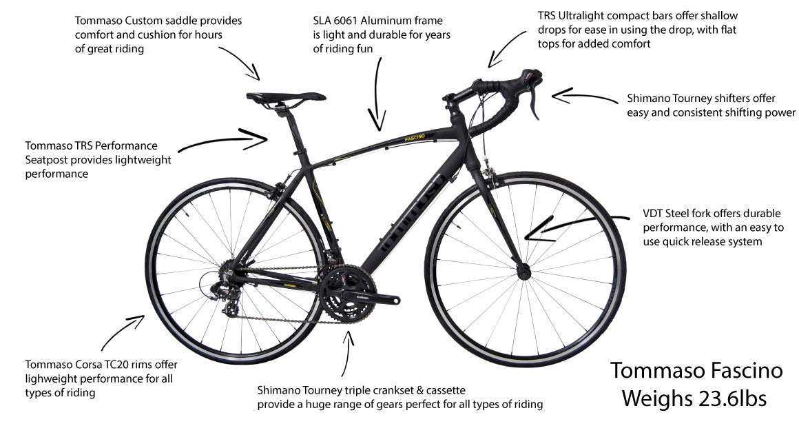 Tommaso Fascino - Value and Performance Combined - tommasobikes