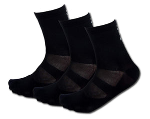 Tommaso Super Wicking Cycling Socks - 3 Pairs