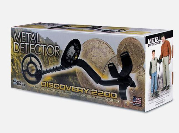 DISCOVERY 2200 BOUNTY HUNTER DETECTOR DE METALES - impomax